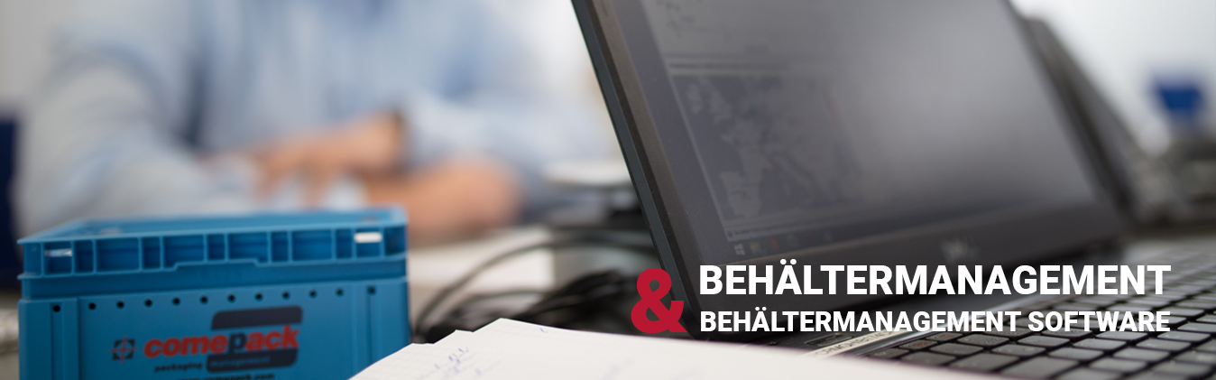 Behältermanagement Software Comepack