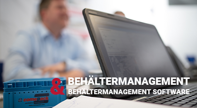 Behältermanagement Software