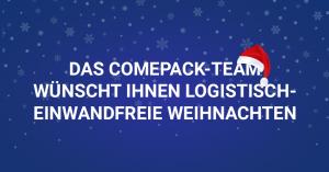 Logistisch einwandfreie Weihnachten 2020